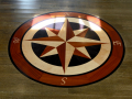 WVCI Magothy Fitz foyer compass inlay